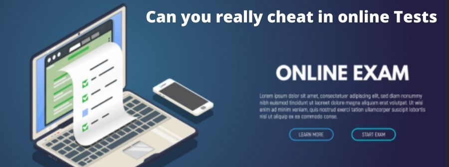 Can Online Tests Detect Cheating