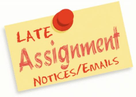 Late assignment extension request