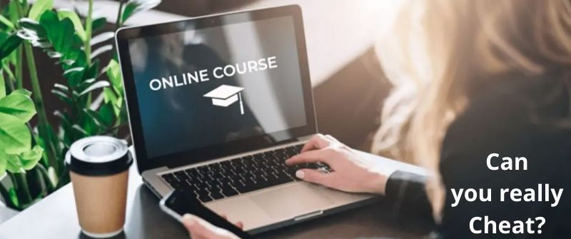 Can Online Courses Detect Cheating